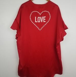 Victoria's Secret | Red Robe Heart Love New OS